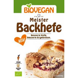 Biovegan Meister Backhefe 7g Packung