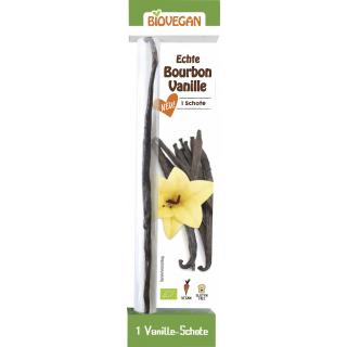 Biovegan Bourbon Vanille-Schote 1 Stk