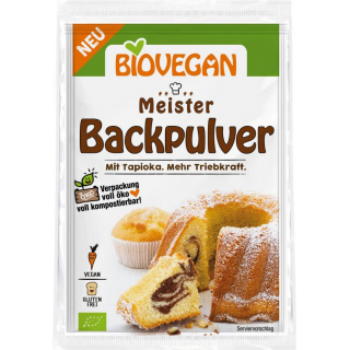 Biovegan Meister Backpulver 3x17g - 51 Packung