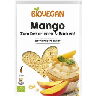 Biovegan Mango, gewürfelt gefriergetrocknet 17 g Packg