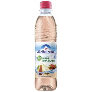 Adelholzener Birne Rhabarber Schorle 0,5l Flasche