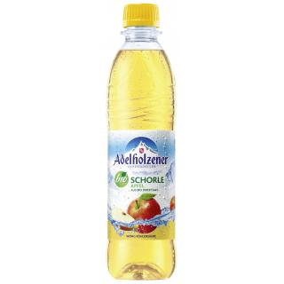 Adelholzener Apfelschorle 0,5l PET-Pfandflasche