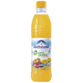 Adelholzener Apfel Orange Maracuja 0,5l PET-Pfandflasche