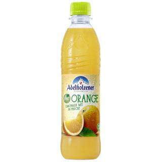 Adelholzener Alpenquellen Orange 0,5l PET-Pfandflasche