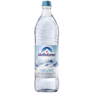 Adelholzener Alpenquellen Naturell Individual 0,75l Flasche