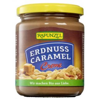Rapunzel Erdnuss-Caramel Creme 250g Glas