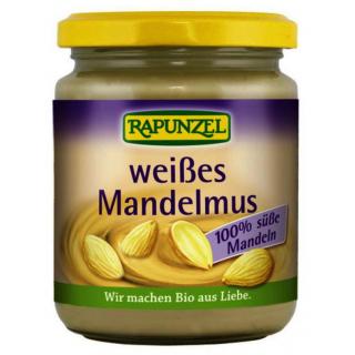 Rapunzel Mandelmus weiß 250g Glas