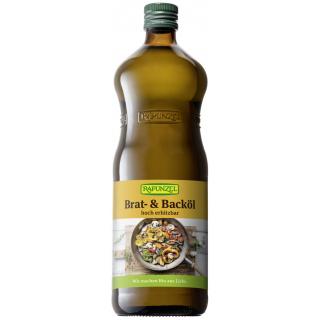 Rapunzel Brat- und Backöl 1l Flasche