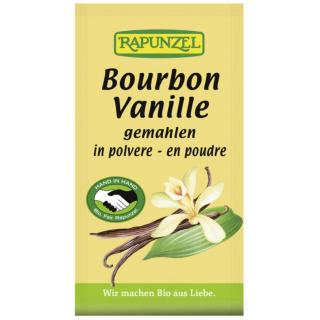 Rapunzel Bourbon Vanillepulver 5g Packung
