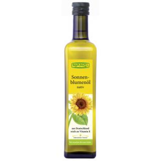Rapunzel Sonnenblumenöl nativ 0,5l Flasche