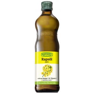 Rapunzel Rapsöl  nativ 0,5l Flasche
