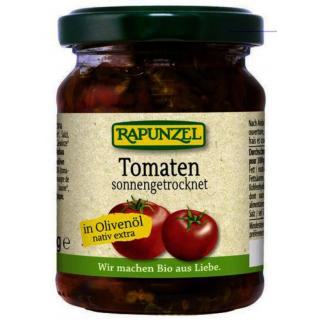 Rapunzel Tomaten getrocknet in Olivenöl 120g Glas
