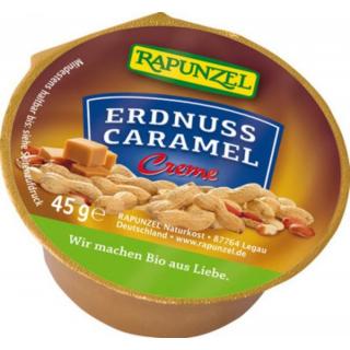 Rapunzel Erdnuss-Caramel Creme Portion 45g Stück