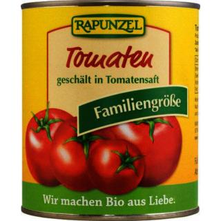 Rapunzel Tomaten geschält in der Dose 800g Dose
