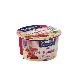 Söbbeke Grießpudding mit Himbeere 150g K3-Becher