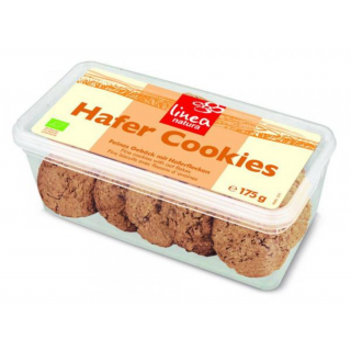 Linea Natura Hafer Cookies 175g Packung