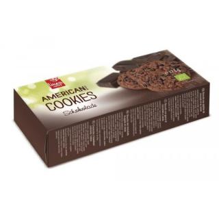 linea natura American Style Schoko Cookies 175g Packung