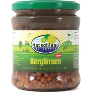 Marschland Berglinsen 330g Glas (230g)