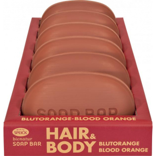 Made by Speick Soap Bar Hair & Body Blutorange 125g Stück