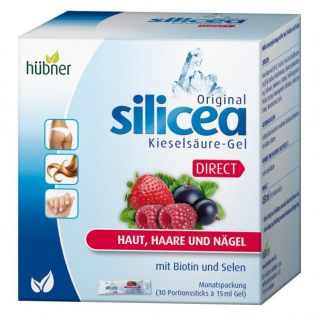Hübner Silicea Kieselsäure Gel Direct 30 Stück
