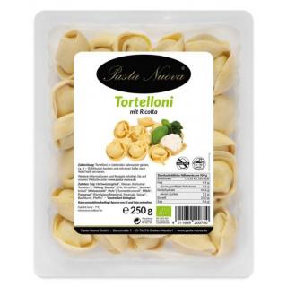 Pasta Nuova Tortelloni mit Ricotta Füllung 250g Packung