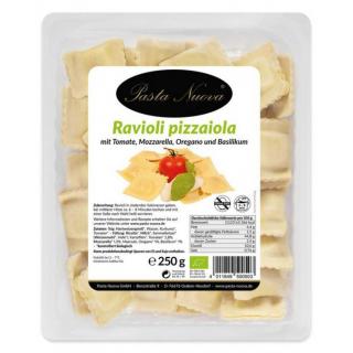 Pasta Nuova Ravioli a la pizzaiola 250g Schale