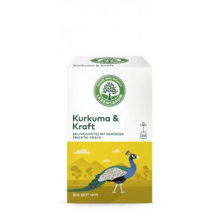 Lebensbaum Kurkuma & Kraft Früchtetee 20x2g Packung