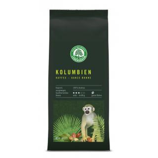 Lebensb Kolumbien Kaffee ganze Bohne 250g Packung