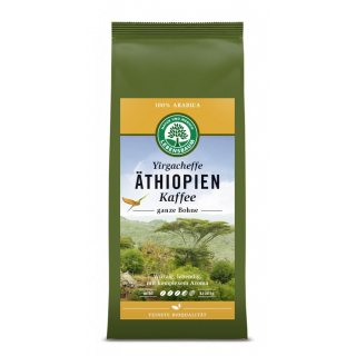 Lebensb Äthiopien Kaffee ganze Bohne 250g Packung