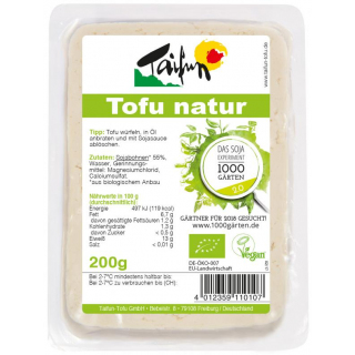 Taifun Tofu natur 200g Packung