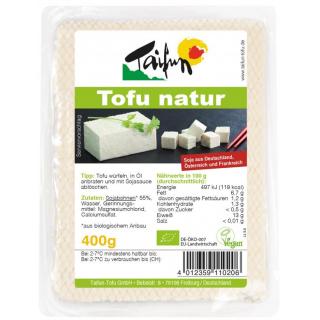 Taifun Tofu natur 400g Packung