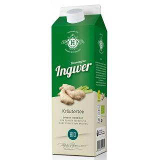 tbottlers Zitronengras Ingwer Teegetränk 1l Elopak
