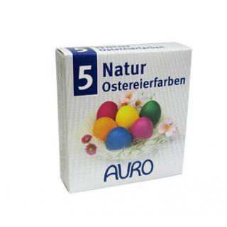 AURO Ostereier Farben 4 frühlingsfrische Farbtöne