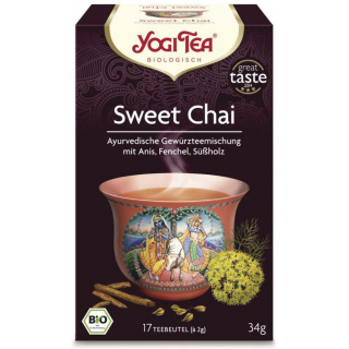Yogi Tea Sweet Chai 2g 17 Btl Packung