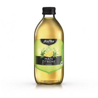 Yogi Tea Mate Zitrone Teekaltgetränk 0,33l Flasche