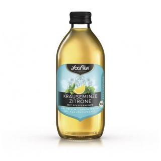 Yogi Tea Krauseminze Zitrone 0,33l Flasche