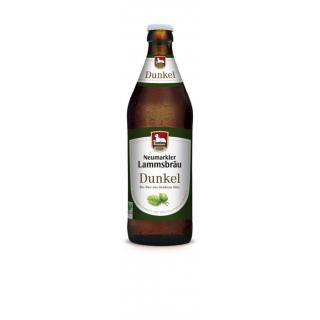 Lammsbräu Öko Dunkelbier 0,5l Flasche