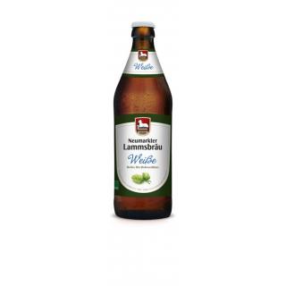 Lammsbräu Öko Hefeweizen 0,5l Flasche