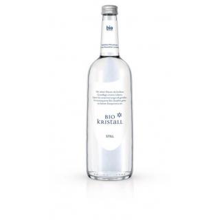 Bio - Kristall Wasser still 0,75l Flasche Flasche