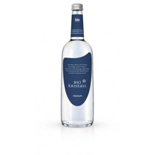 Bio - Kristall Wasser classic 0,75l Flasche