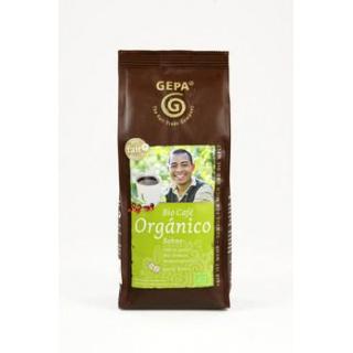 Gepa Café Orgánico Ganze Bohne 100% Arabica 250g Packung