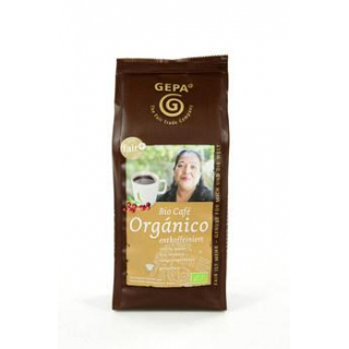 Gepa Café Orgánico entcoffeiniert gemahlen 250g Packung