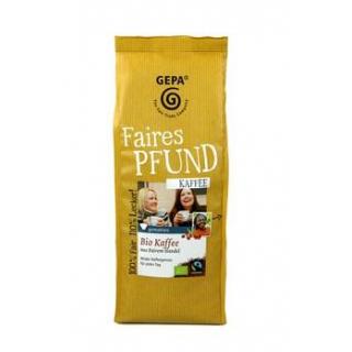 Gepa Faires Pfund Kaffee gemahlen 500g Packung