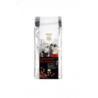 Gepa Espresso, original italienisch ganze Bohne 1kg Beutel