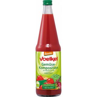 Voelkel Gemüse-Komposition milchsauer vergoren 0,7l Flasche