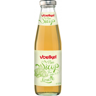 Voelkel Limetten Sirup 0,5l Flasche