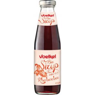 Voelkel BioSirup Rhabarber 0,5l Flasche