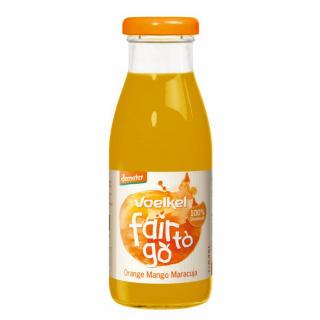 Voelkel fair to go Orange Mango Maracuja 0,25l Flasche