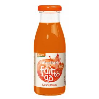 Voelkel fair to go Karotte Mango 0,25l Flasche