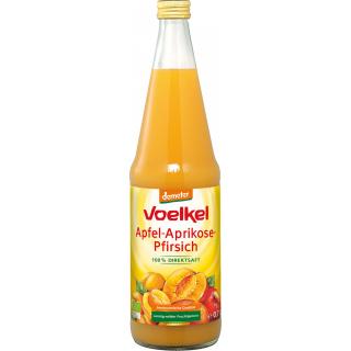 Voelkel Aprikose-Pfirsich 0,7l Flasche